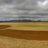The golf course on St. Helena Island, South Atlantic Ocean.