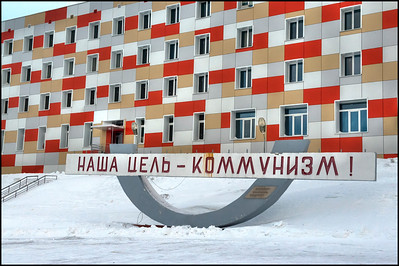 """""""Our Goal - Communism!"""" The Russian mining town of Barentsburg, Svalbard"""