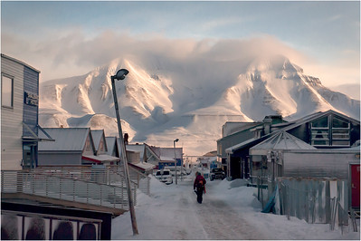 City Center, Longyearbyen, Svalbard, Norway