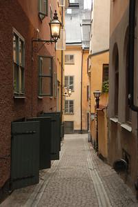 Gamlastan, Stockholm, Sweden.