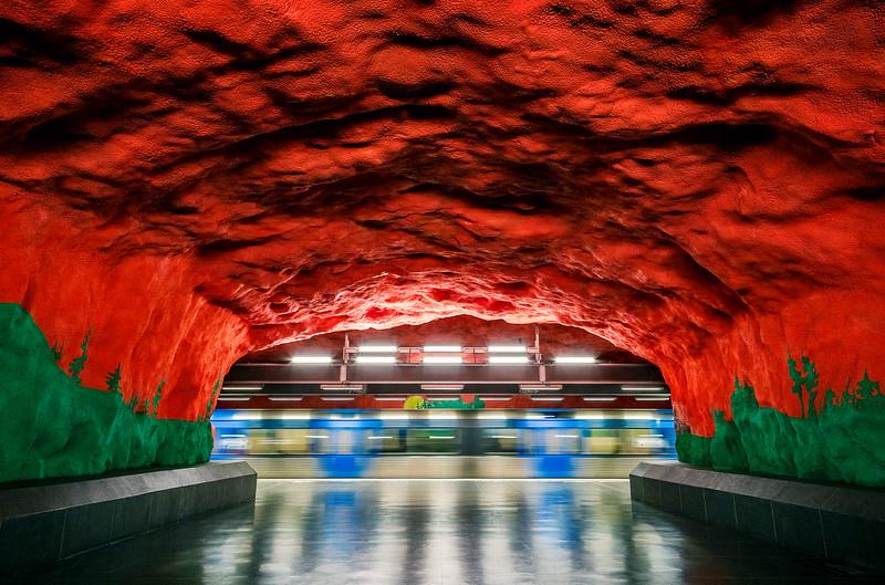 stockholm Subway Art 7