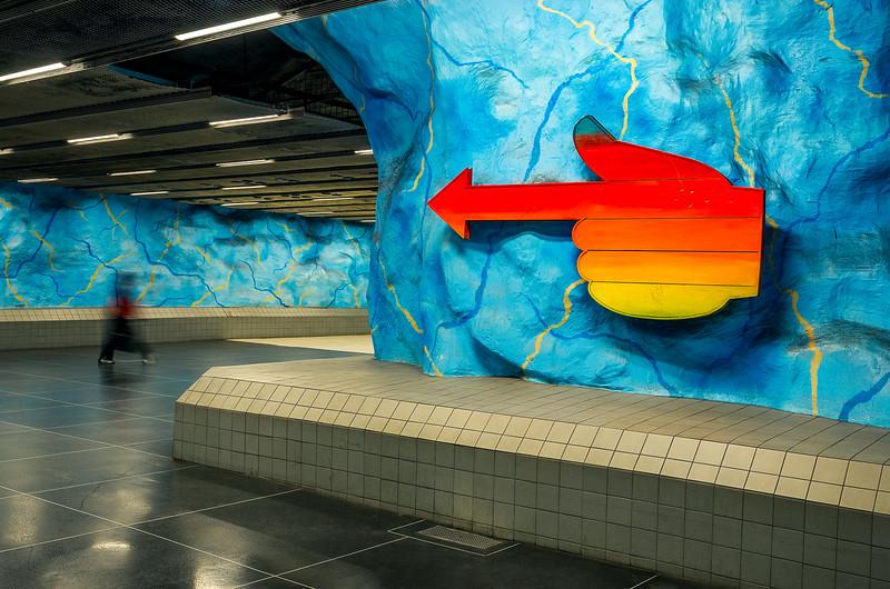 Stockholm Subway Art 2