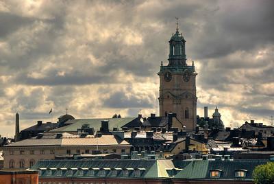 Church, Stockholm, Sweden HDR.