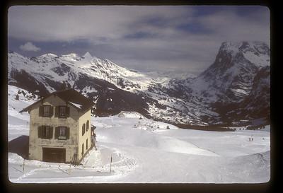 Skiing, Switzerland.