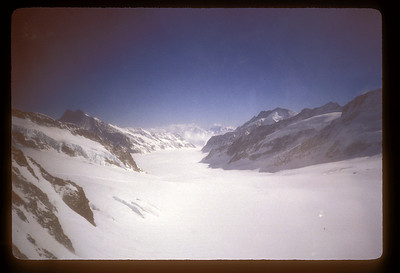 """Jungfraujoch, the """"Top of Europe,"""" Switzerland."""