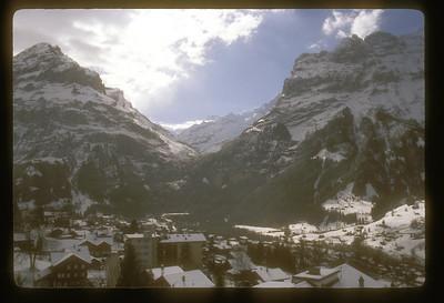 Grindelwald, Switzerland and Mt. Eiger.