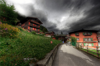 Mürren, Switzerland HDR.