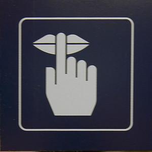Sign on Swiss Rail, Switzerland.