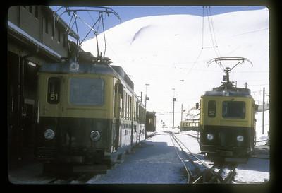 Along the Jungfraubahn, Bernaise Oberland, Switzerland.
