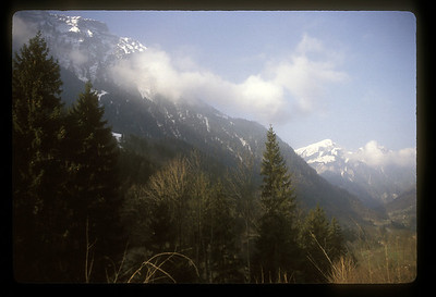 Mountainside, Swiss Alps.