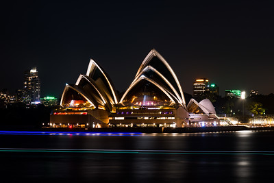 Sydney Opera House Lights
