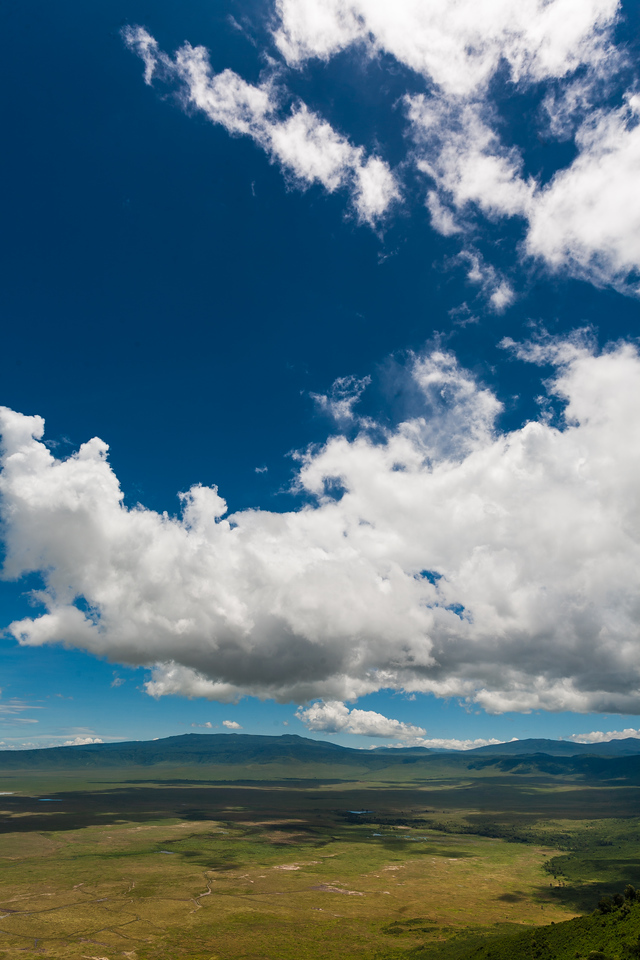 Clouds Oer Ngorongoro Crater