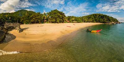 Than Sadet beach at Koh Phangan, Thailand.