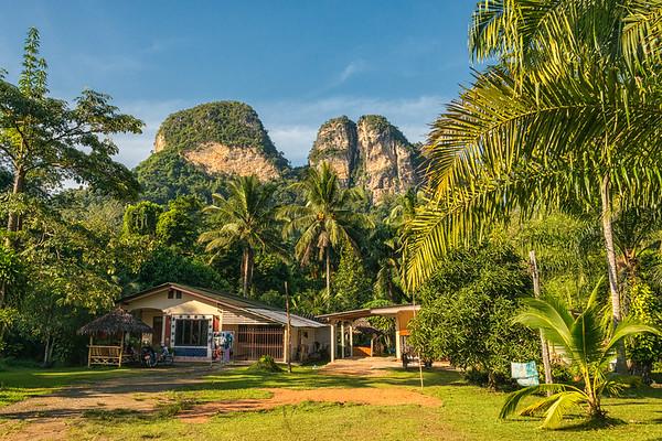 Thailand - Limestone rocks at Krabi