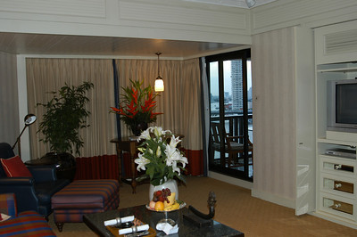 Norman Mailer suite, Oriental Hotel, Bangkok, Thailand.