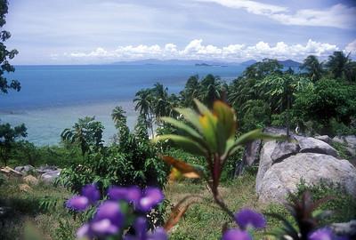 Koh Samui, Thailand landscape.