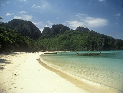 Lagoon, Koh Phi Phi, Thailand.