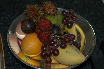 Fruit platter, Thailand.