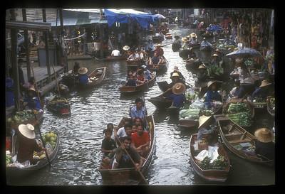 Floating market, Thailand.