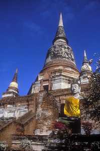 Ayutthaya, Thailand, ancient capital of Siam.
