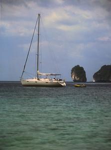 Sailboat, southern Thailand.