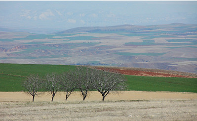 Plain west of Nevsehir, Turkey.