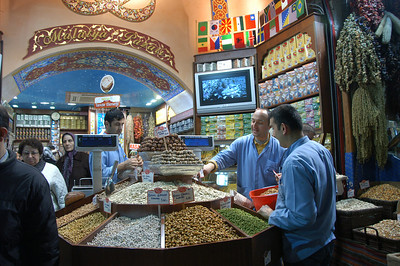 Sweets and spices, Grand Bazaar, Istanbul.