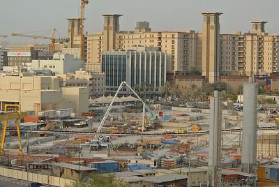 Construction project, Dubai, United Arab Emirates.