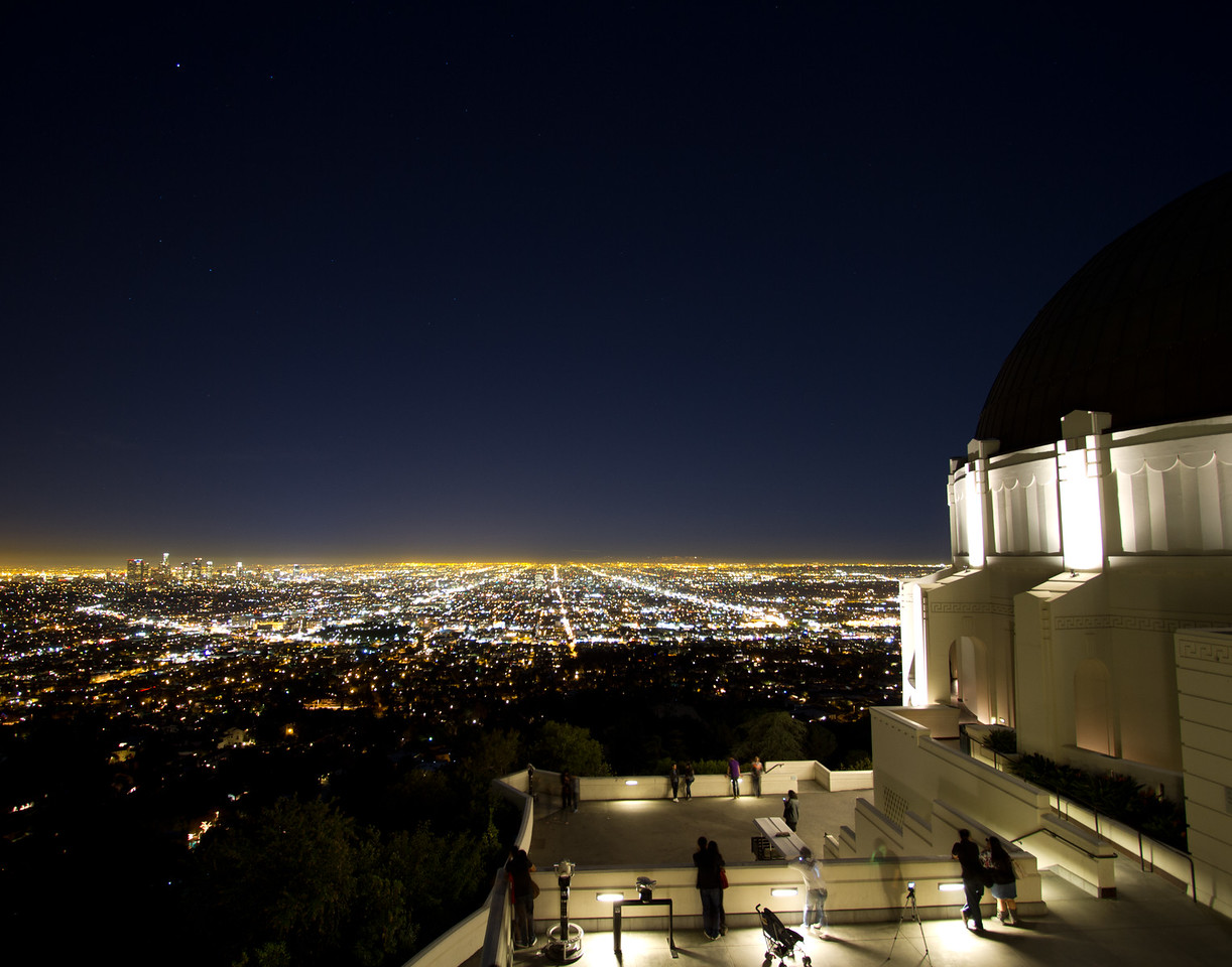 Los Angeles Below The Griffith Observatory, California, USA