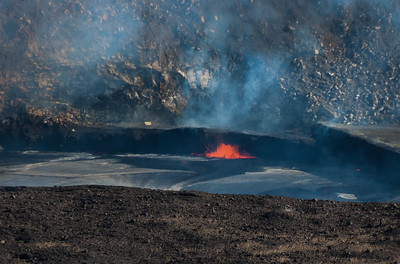 Kilauea Volcano in Hawai Volcanoes National Park