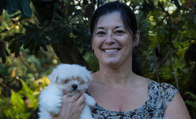 Teresa, whom I stayed with on the Big Island of Hawai via Air B&B.