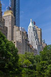 Skyscrapers in city - USA - New York State - New York