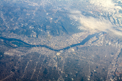 Aerial view of Portland, Oregon - USA