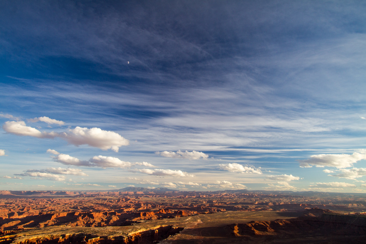 View of rocky landscape in Utah - USA