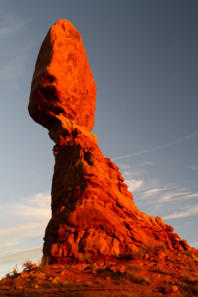 Balanced rock at Arches National Park - Utah - USA