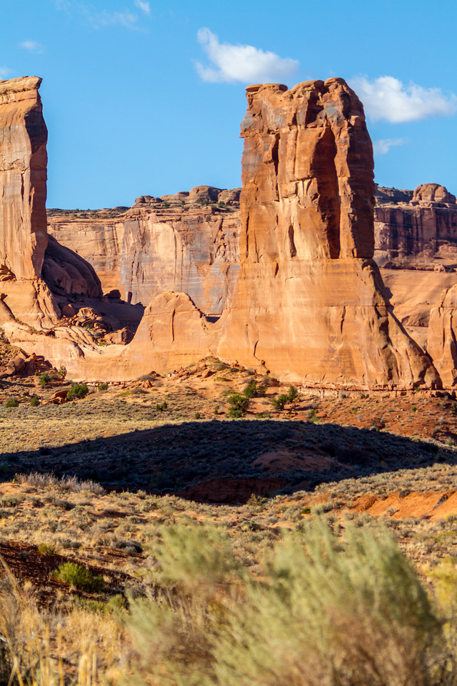View of Wall Street rock formation in USA - Utah