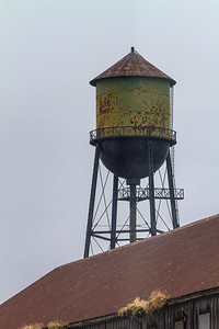 View of water storage tank - USA - Washington - Bellingham