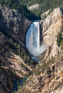 Waterfall in Yellowstone National Park - USA