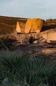 Sunset at Enchanted Rock