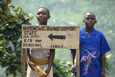 Street scene, rural Uganda.