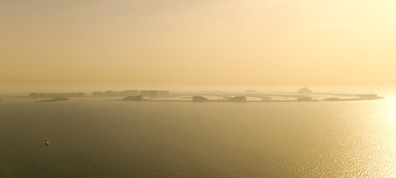 View of palm islands - United Arab Emirates - Dubai