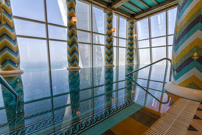 Indoor swimming pool in Burj Al Arab - United Arab Emirates - Dubai