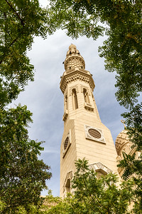View of Jumeirah mosque - UAE - United Arab Emirates - Dubai