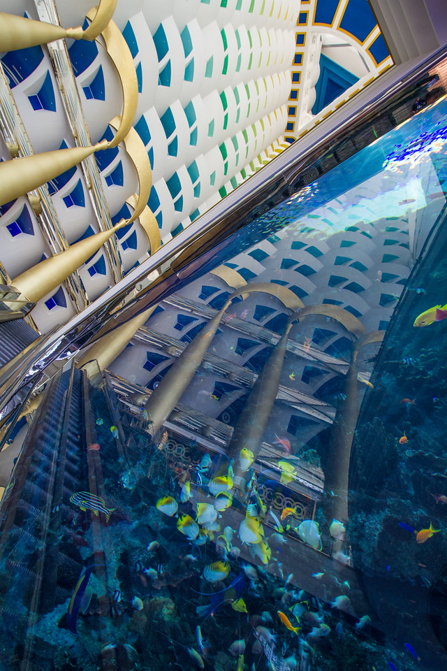 Entrance To Burj Al Arab, Dubai, United Arab Emirates