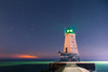 The lighthouse in downtown Ludington.
