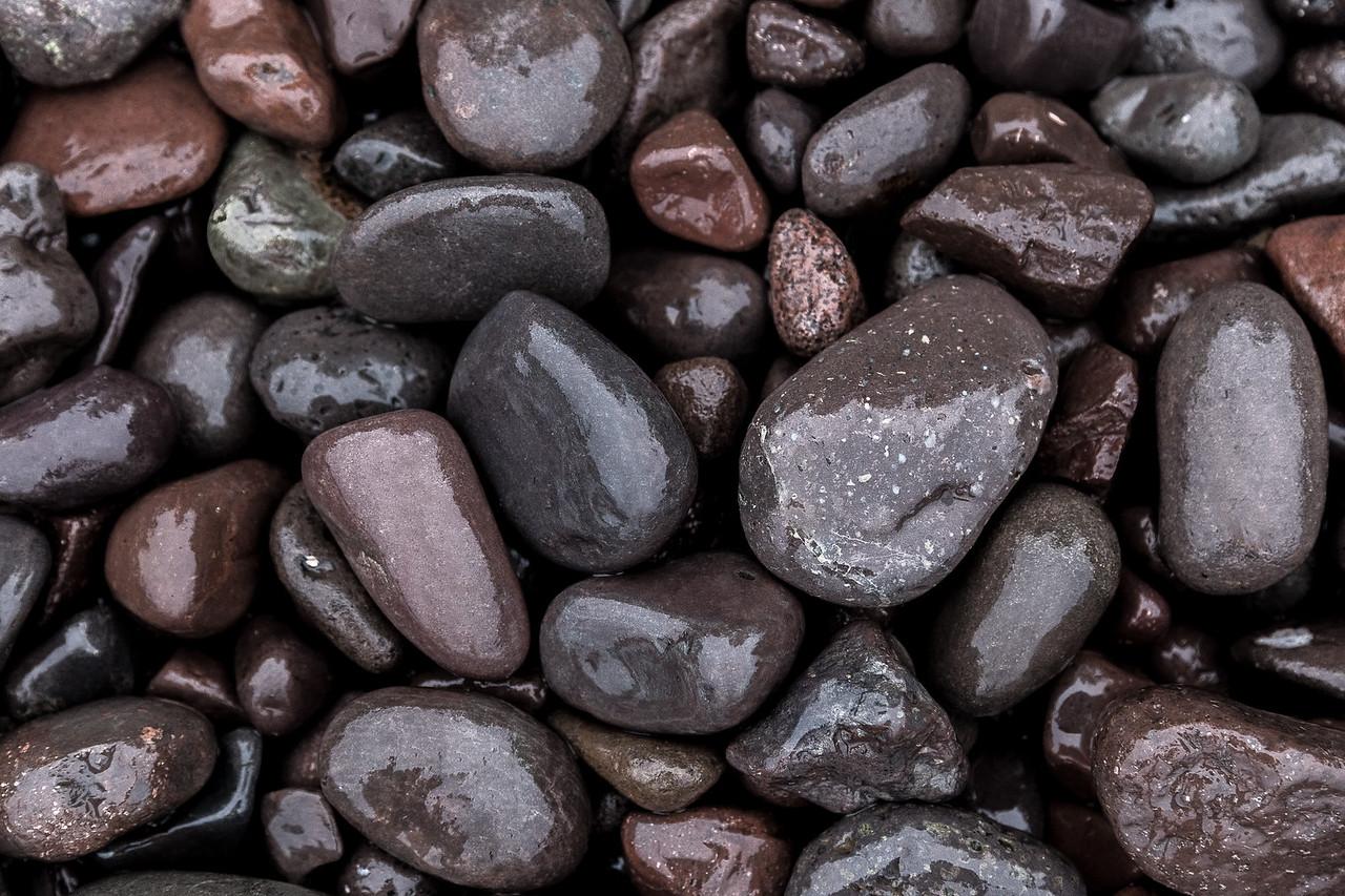 Rocks on Lake Superior shoreline.