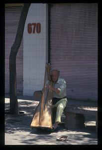 Musician, Montevideo, Uruguay.
