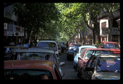 City center, Montevideo, Uruguay.