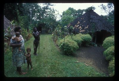 Family, Espiritu Santo Island, Vanuatu.