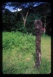 Totem, Espiritu Santo Island, Vanuatu.